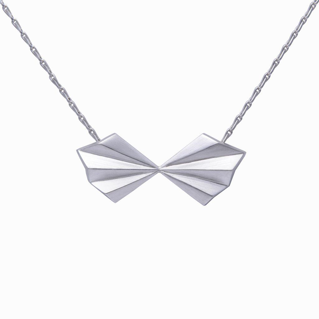 silver-pleated-bow-necklace-by-alice-barnes-jewellery