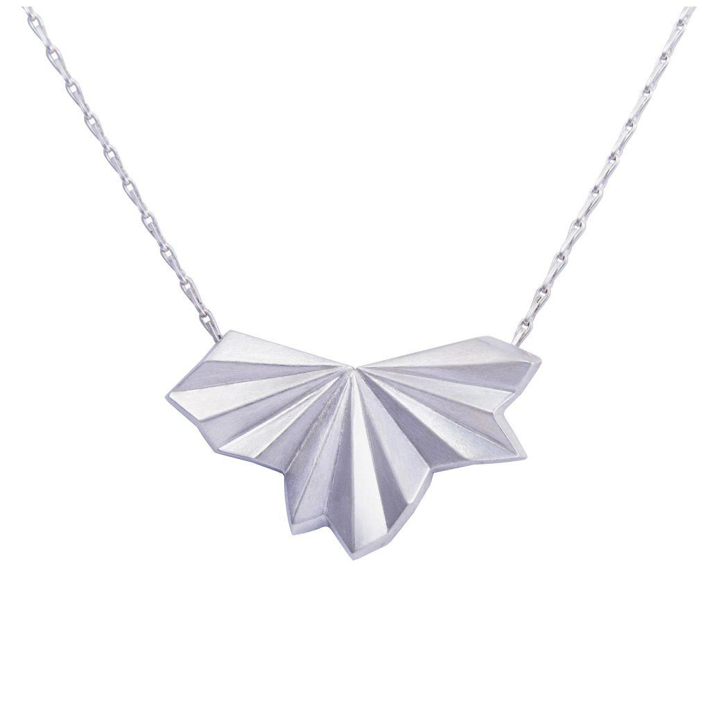 silver-pleated-fan-necklace-by-alice-barnes-jewellery