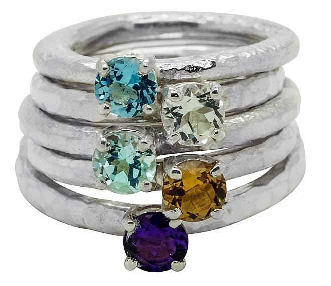 Gemstone rings - Fi Mehra
