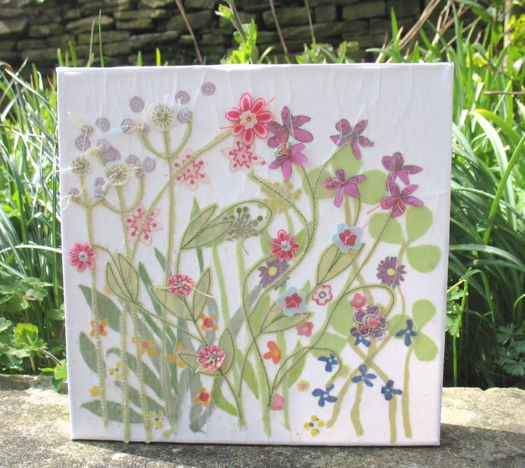 Anne Crowther summer meadow canvas