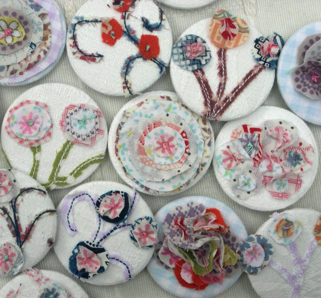 Anne Crowther posy pins