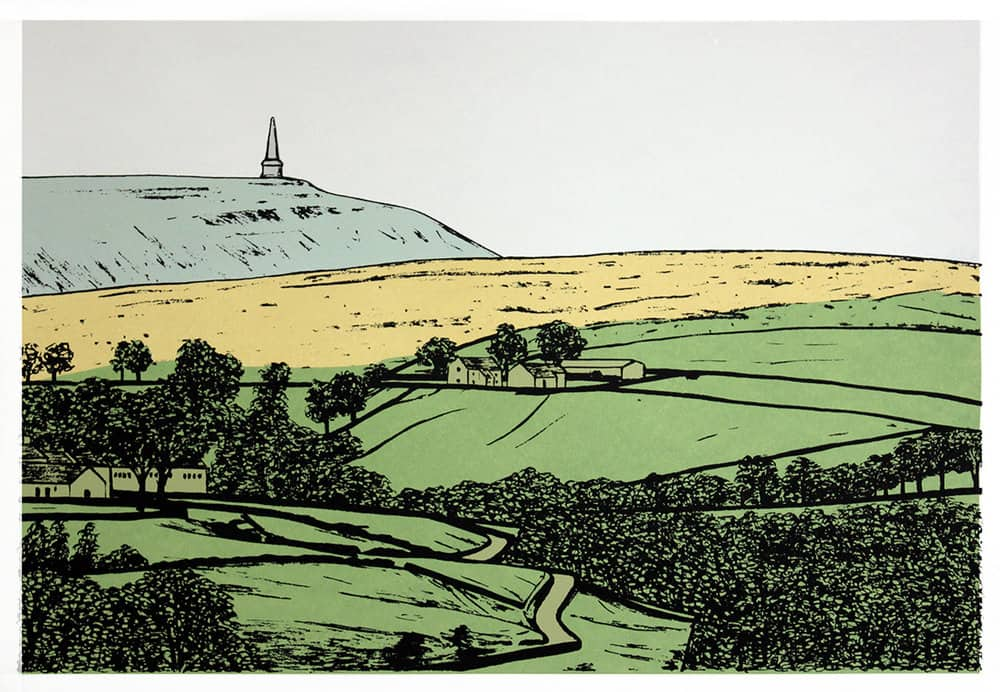 Sarah Harris printmaker Stoodley Pike