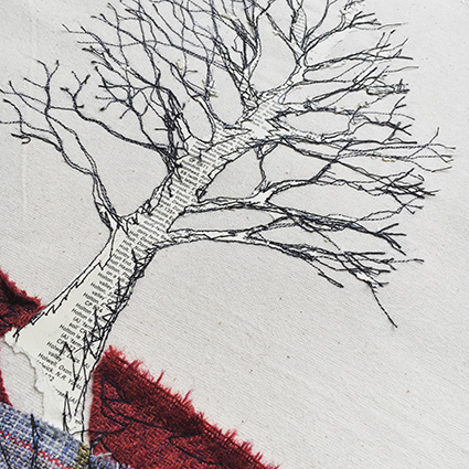 Claire Louise Mather red tree
