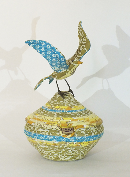 Jemima Fisher Skylark urn yellow
