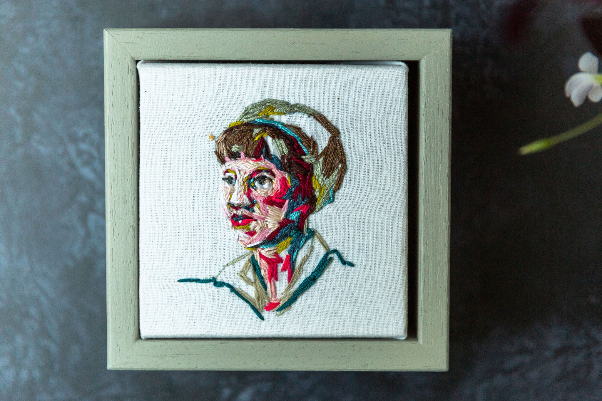 sylvia Plath by Marna Lunt