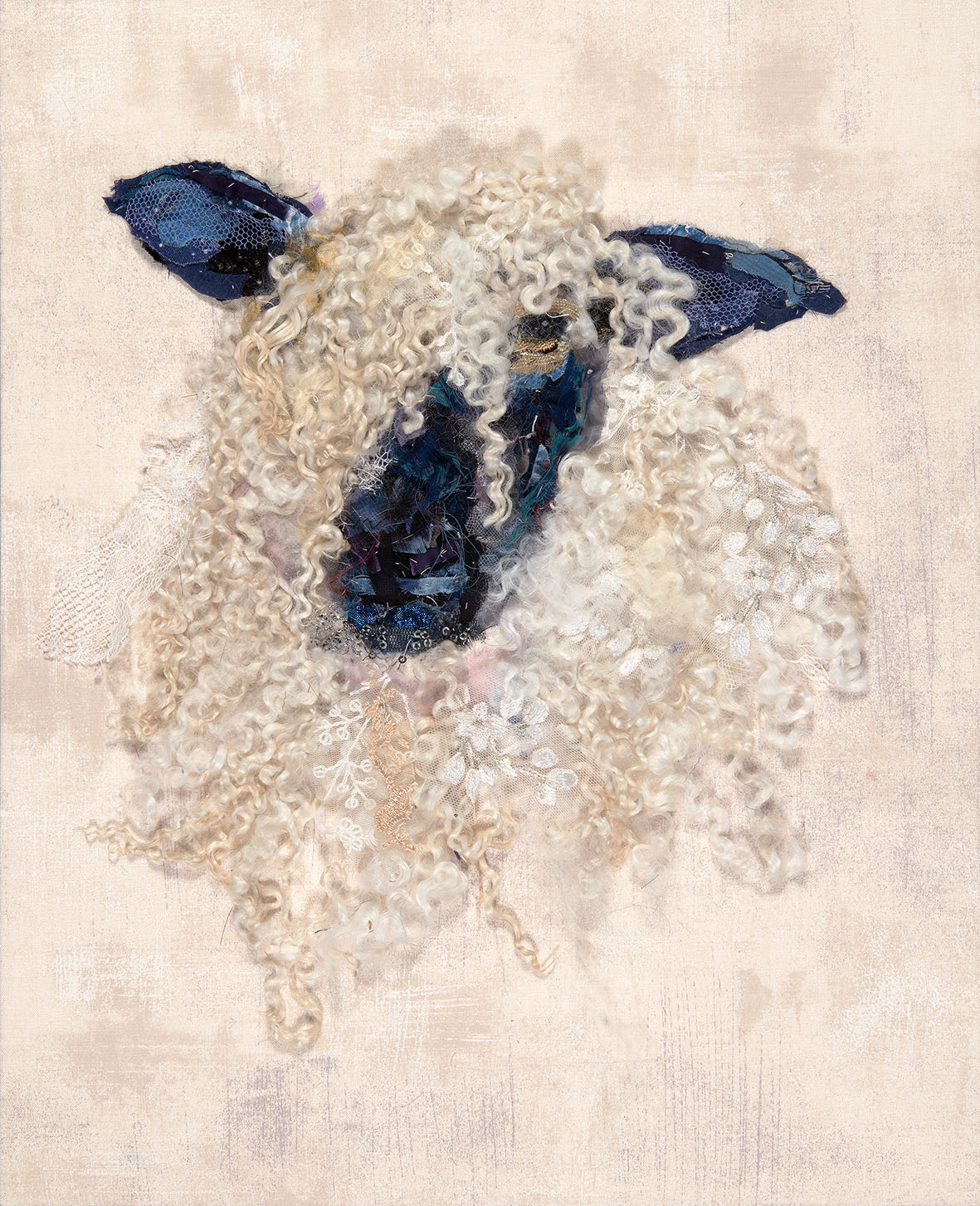 Barbara Shaw Wensleydale Sheep