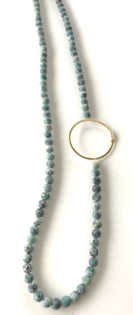 Melissa James long necklace