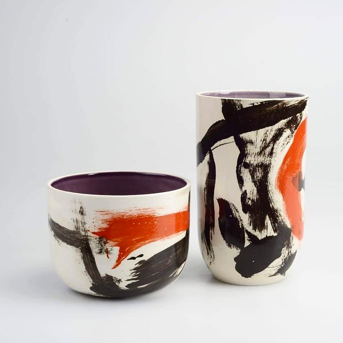vessel and bowl