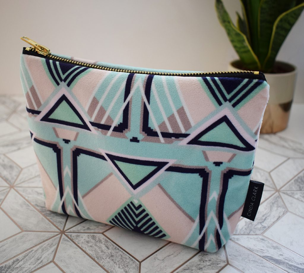 Francis Tiles Make Up Bag Lucinda Clark