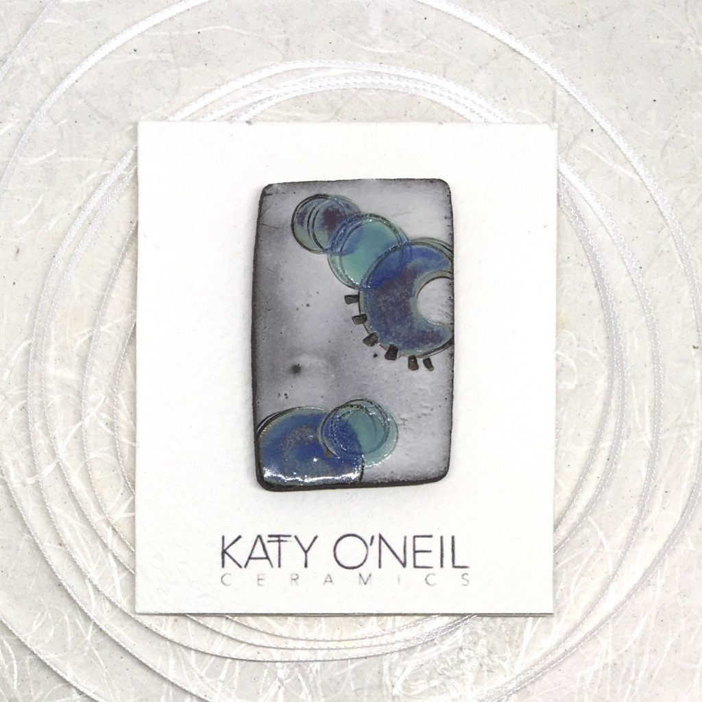 brooch by Katy O'Neil