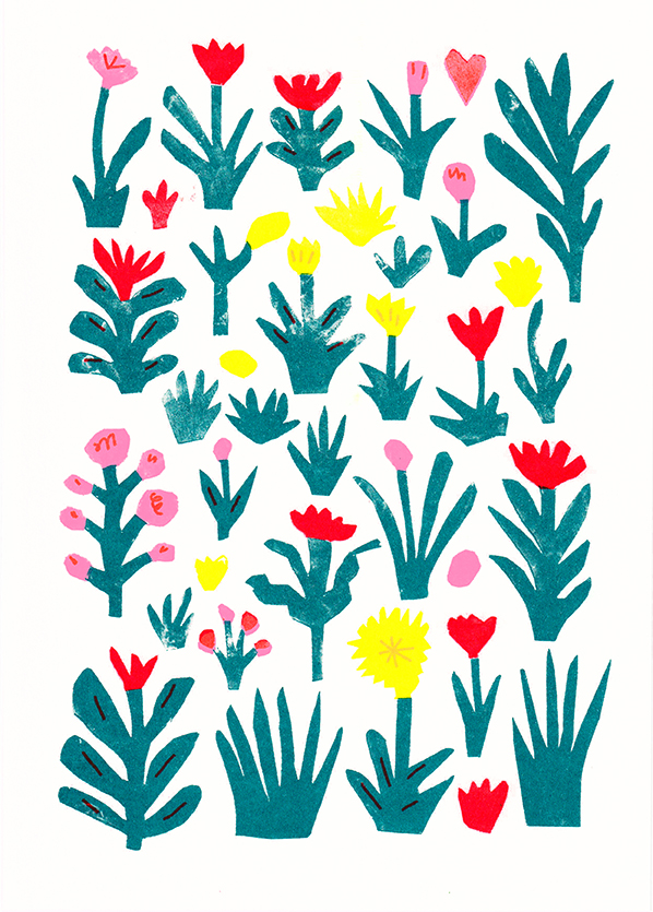 Plants riso graph