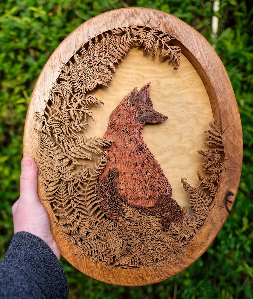 fox and ferns hand cut