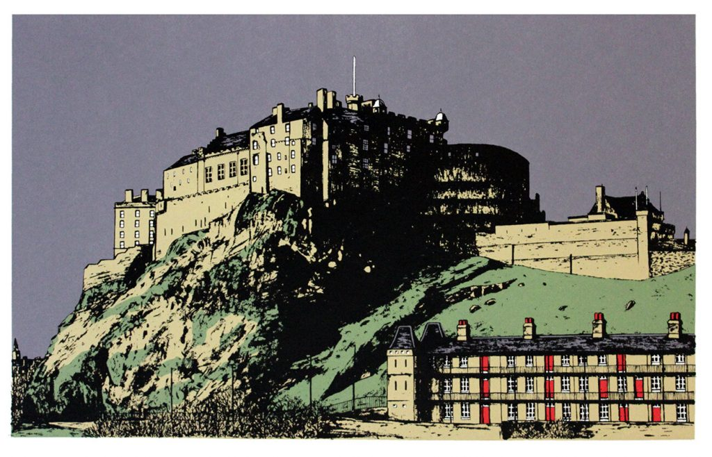 Sarah Harris - Edinburgh Castle